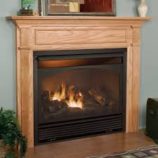 free standing ventless propane fireplace home decorating