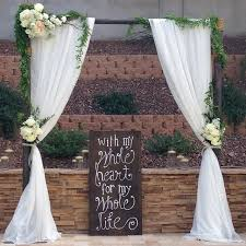 wedding arch rental sherwood forest square residence scottsdale az arc de