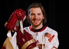 evan janssen denver pioneers forward brings more than just