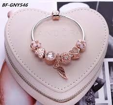 pandora charm bracelet sterling silver images Rose gold pandora charms bracelet 925 sterling silver bracelets jpg
