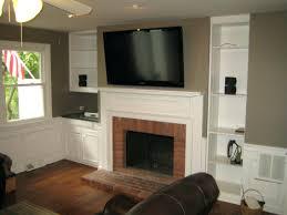 how mount fireplace the area ideal place corner tv design ideas
