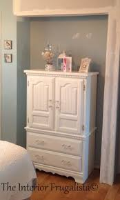 Armoire Changing Table Too Pretty For A Bedroom Small Armoire Makeover The Interior