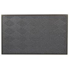 Wipe Your Paws Rubber Backed Hometrax Designs Door Mats Mats The Home Depot