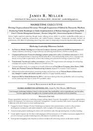 Sample Resume Format For Marketing Executive by Resume Sample Marketing Graduate Templates