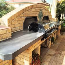 polished concrete outdoor kitchen bbq benchtop by mitchell bink