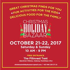 christmas bazaars you shouldn u0027t miss this 2017 manila on sale