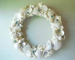 seashell wreath seashell wreath etsy