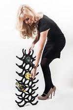 aluminium free standing wine racks u0026 bottle holders ebay