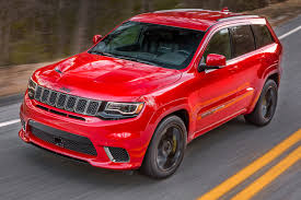 suv jeep 2017 extreme machine jeep grand cherokee trackhawk the most powerful