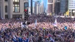 Giants Parade Route Map by Cubs Parade Celebrates World Series Win Mlb Com
