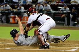emptying the plate baseball to ban collisions at home az snake pit