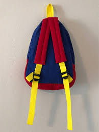 1980s colors vintage primary colors children s backpack vintage 1980 s primary