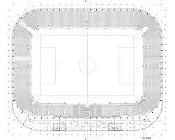 cape town stadium floor plan gallery of football stadium of sports park stožice sadar vuga