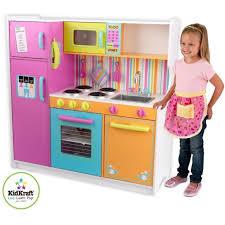 cuisine en bois pour fille cuisiniere pour enfant topiwall