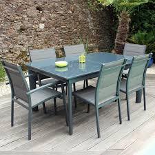 Table Et Chaises De Jardin Leroy Merlin by Salon De Jardin En Resine Corfu Naterial Gris Anthracite U2013 Qaland Com
