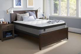 queen sealy response essentials townhouse iv plush pillow top mattress