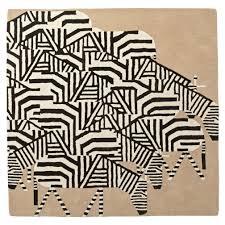 charley harper zebra rug the land of nod