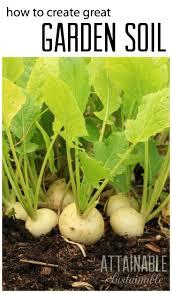Vegetable Garden Soil Mix by Best 25 Garden Soil Ideas On Pinterest Organic Gardening Tips