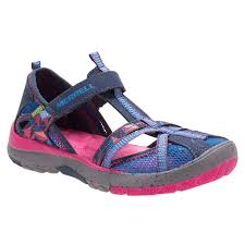 merrell casual merrell hydro monarch sandals navy kids shoes