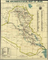 Ancient Middle East Map by The Archaeological Map Of Iraq World Digital Library