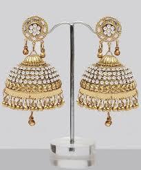 big jhumka gold earrings best 25 jhumka designs ideas on