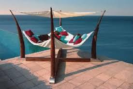 swing day bed teak hammock for outdoor and indoor furniture