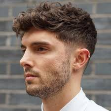 good front hair cuts for boys 30 refined wavy and curly hairstyles for men the best options