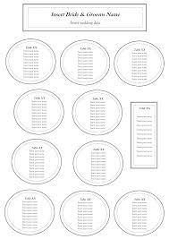 wedding seat chart template rectangular table seating chart template