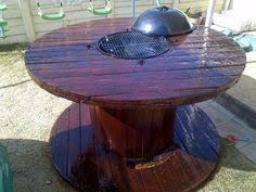 Wire Spool Table Wooden Wire Spool Tables Google Search Backyard Pinterest