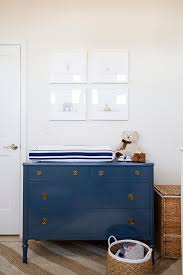 Baby Dressers And Changing Tables Blue Changing Table Dresser Transitional Nursery