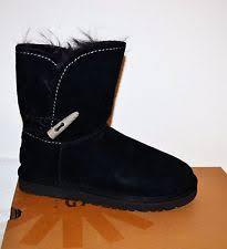 ugg s meadow boots ugg australia meadow black suede waterproof boots shoes us 6