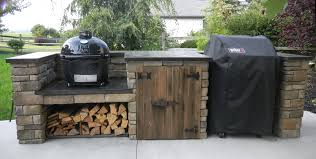 Outdoor Grill Ideas by Finished Outdoor Grill Center Diy My Outdoor Grill Center And