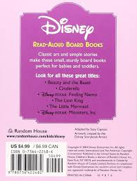 Finding Nemo Story Book For Children Read Aloud And The Beast Read Aloud Board Book Rh Disney