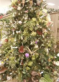 a very fairy christmas tree at one of the local nurseries here in