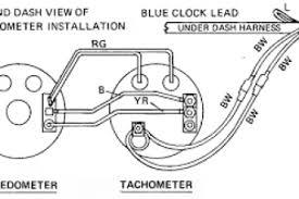 saas rpm gauge wiring diagram wiring diagram