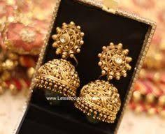 big jhumka gold earrings large gold plated large jhumki jhumka jhumkas indian earring