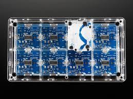 adafruit hella untztrument open source 16x8 grid controller kit