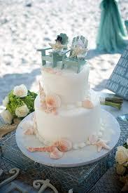 beachy wedding cakes simple wedding cakes