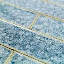 colorful glass tile backsplash blue roman collection brisk blue 2x8 glass tile blue shop by color