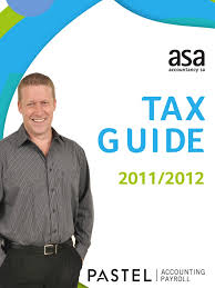 pastel tax guide 2011 taxes tax deduction