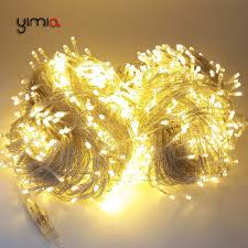 led garland christmas lights yimia 10m 20m 30m 50m 100m christmas led garland string fairy light