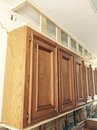 how to make ugly cabinets look great designed kitchen cabinets under construction
