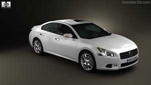 white nissan maxima 2012 360 view of nissan maxima 2012 3d model hum3d store