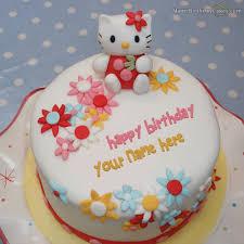 hello birthday cakes birthday cake with name