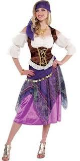 Fortune Teller Halloween Costume Lucent Dossier Experience Fishnets Ballet Slippers Costume