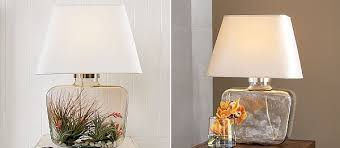 Glass Table Lamps Personalized Atrium Glass Table Lamp