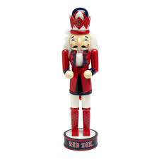 Boston Red Sox Home Decor by 14 U201d Mlb Boston Red Sox Collectible Wood Nutcracker Christmas