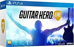 amazon black friday ps44 games guitar hero live with guitar controller ps4 guitar hero ps4
