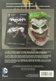 amazon com batman death of the family book and joker mask set