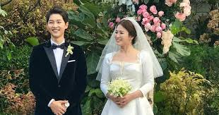 wedding dress song christian reveals the of song hye kyo s wedding dress